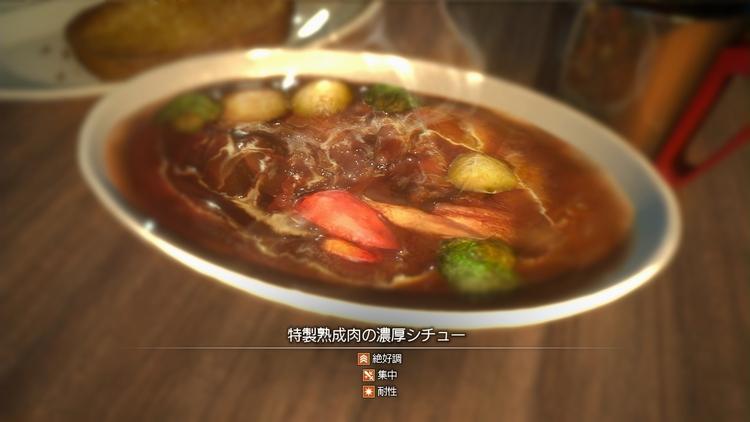 特製熟成肉の濃厚シチュー