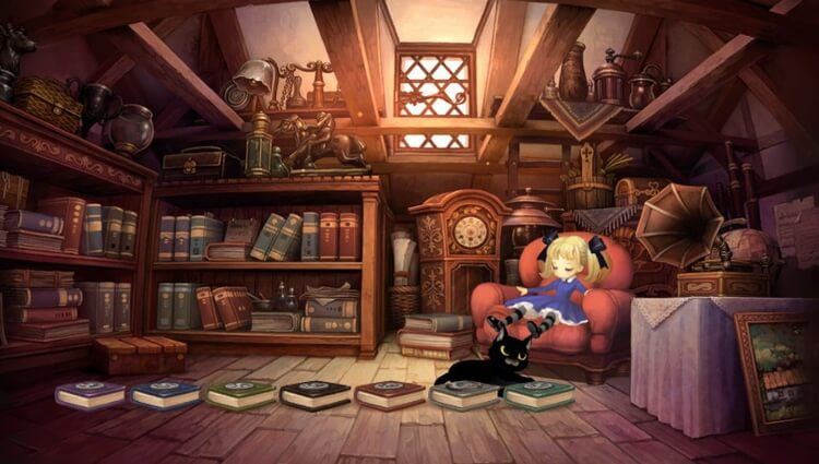 オーディンスフィア レイヴスラシル アリス 屋根裏部屋