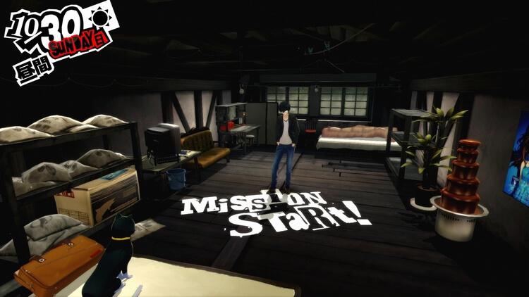 ペルソナ5 MISSION START!