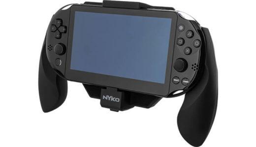 長時間プレイでも安心! バッテリー内蔵 PS Vita用グリップ Power Grip for Vita