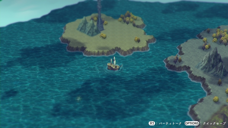 LOST SPHEAR 船での移動
