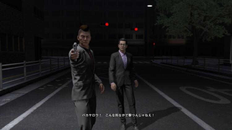 巨影都市 イベントシーン こんな街なかで撃つんじゃねえ!