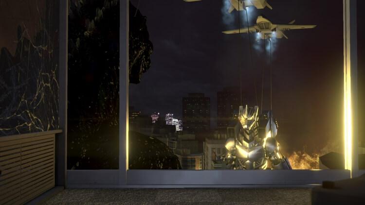 巨影都市 ゴジラ vs 3式機龍