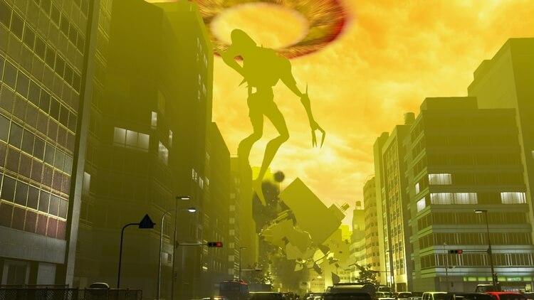 巨影都市 第4の使徒 サキエル
