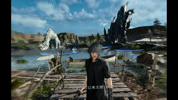 MONSTER OF THE DEEP: FINAL FANTASY XV ノクティス