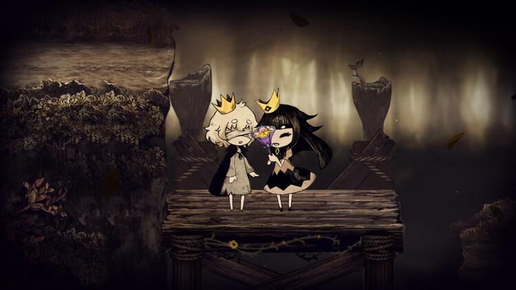 嘘つき姫と盲目王子 王子に花を