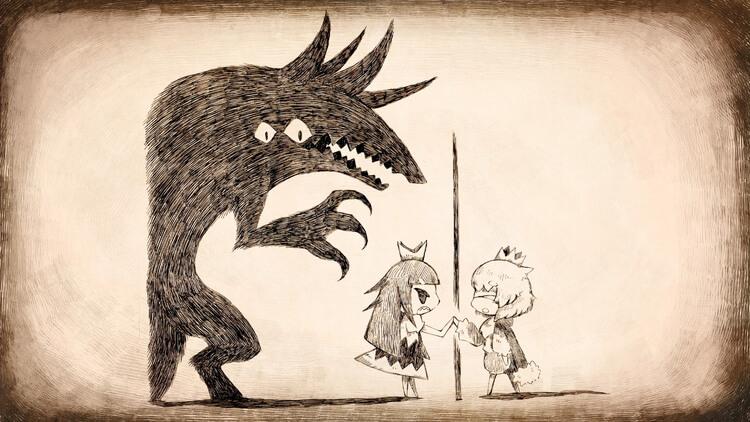 嘘つき姫と盲目王子 コンセプトアート