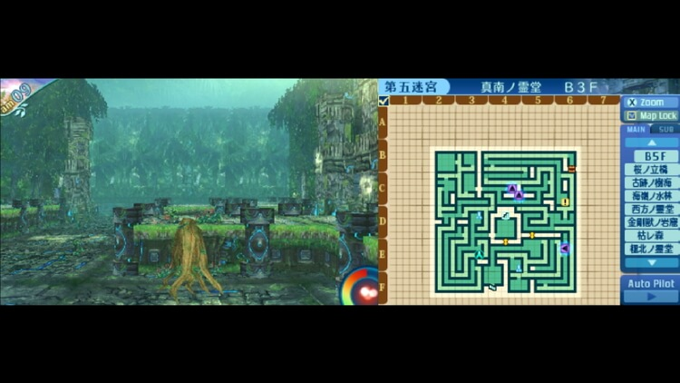 世界樹の迷宮X 真南ノ霊堂