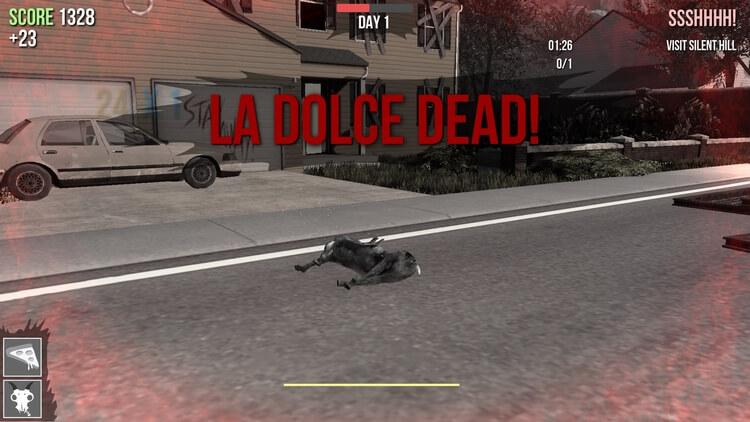 Goat Simulator:GoatZ 死んじゃった!