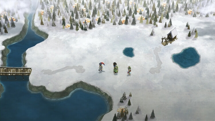 いけにえと雪のセツナ ワールドマップ