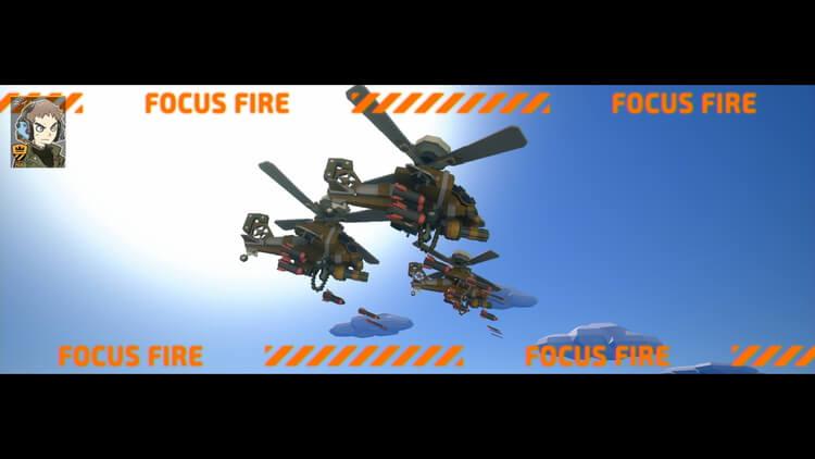 TINY METAL 戦闘:戦闘ヘリ