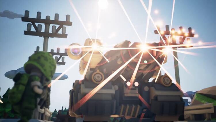 TINY METAL ストーリー:3Dアニメーション