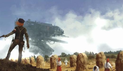 巨大歩行兵器が登場する架空の大戦RTS「Iron Harvest」のKickstarterに支援しました