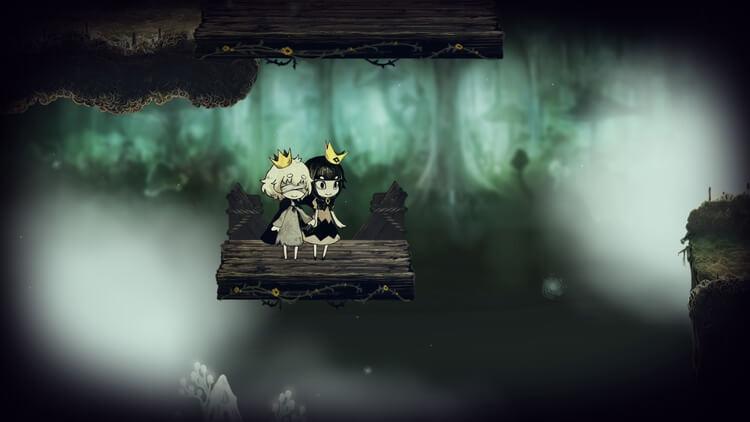 嘘つき姫と盲目王子 アクション要素