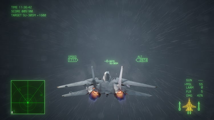 エースコンバット7 雲中