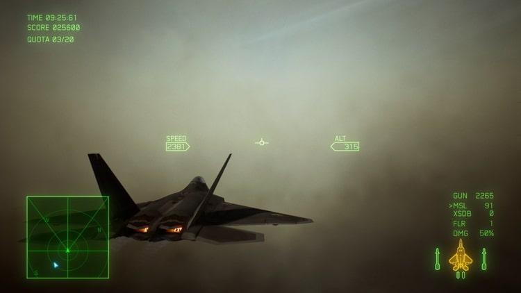 エースコンバット7 砂塵