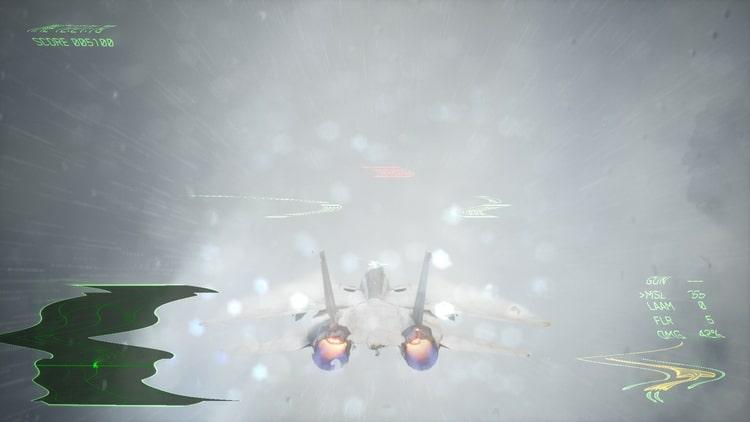 エースコンバット7 落雷