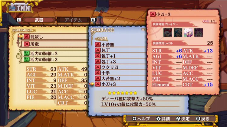 Dragon Marked For Death 装備