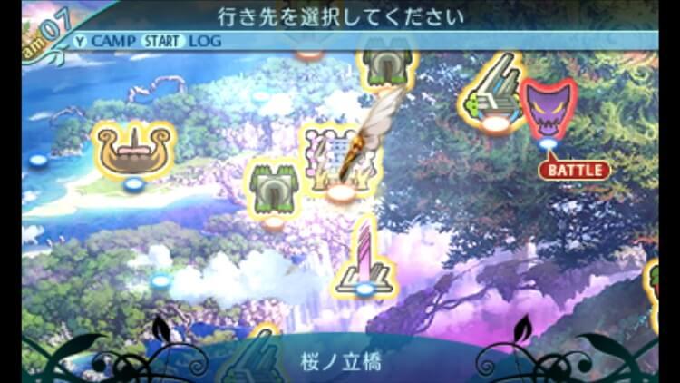 世界樹の迷宮X ワールドマップ